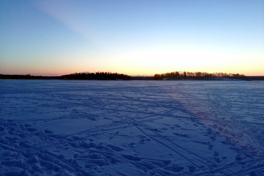 Frozen Baltic