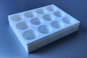 3D-printed 12-well-plate