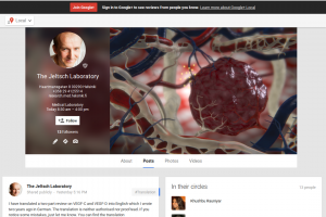 The Jeltsch Laboratory on Google+
