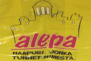 Alepa plastic bag