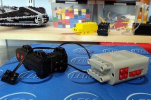 Broken LEGO motor box