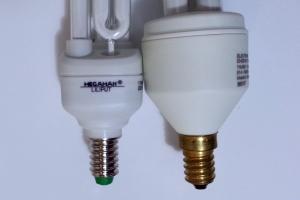 E14 thread lightbulbs