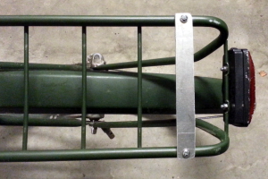 Repaired Helkama luggage carrier
